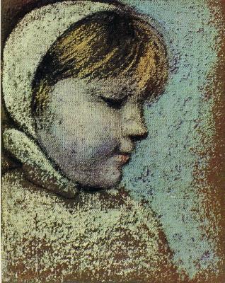 Пабло Пикассо. Портрет Майи