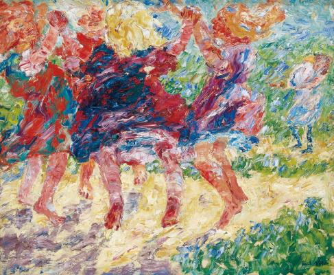 Emil Nolde. Dancing children