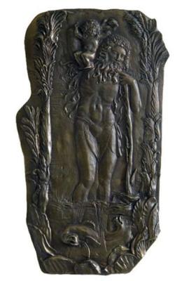 Ernst Fuchs. Saint Christopher