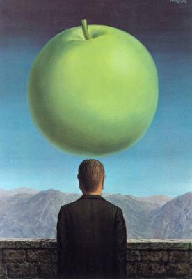 René Magritte. Postcard