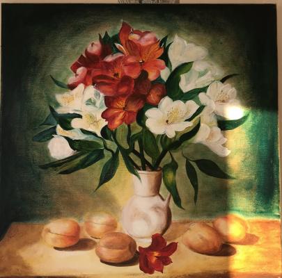 Elena Gorshkova. Apricots