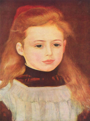 Pierre-Auguste Renoir. Portrait Of Lucie Berard