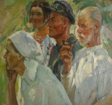 Василий Иванович Сильвестров. Селяне