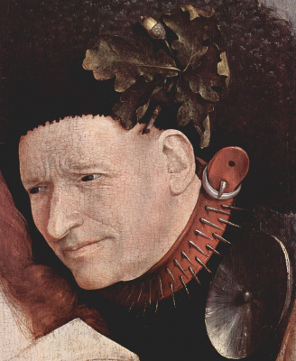 Hieronymus Bosch. The crowning with thorns. Fragment