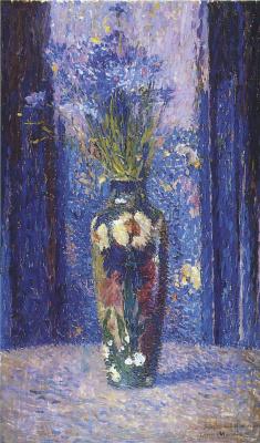 Henri Marten. Vase with flowers