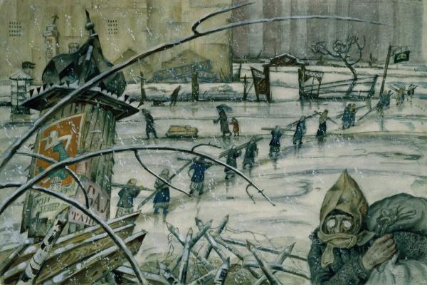 Из жизни Петрограда в 1920 году