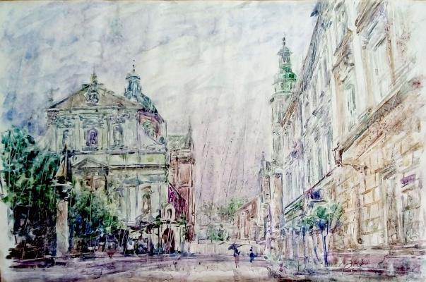 Valerij Ivanovich Sosna. Krakow's Wawel Cathedral