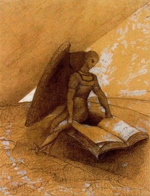 Одилон Редон. Ангел проповедует