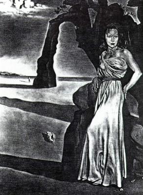 Salvador Dali. Portrait of Mrs. Ann Woodward
