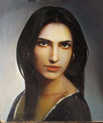 Sergei Hinz. Turkish woman