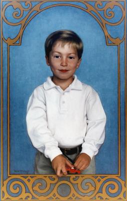 Пол Маккормак. Мальчик с красной машинкой