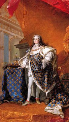 Жан-Батист ван Лоо. Портрет Людовика XV