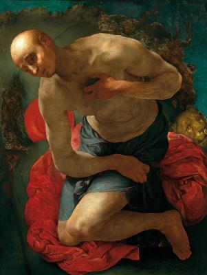 Jacopo Pontormo. Repentance of Saint Jerome