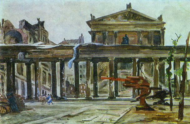 Alexander Alexandrovich Deineka. Berlin. Museum Of Frederick