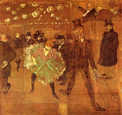 Танец в Мулен Руж