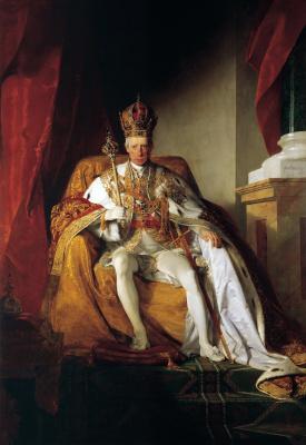 Фридрих фон Амерлинг. Император Франц II Австрийский.1832