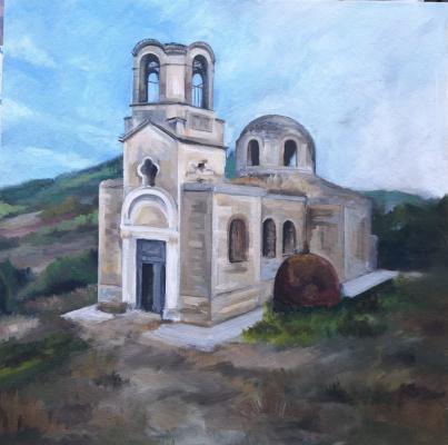 Svetlana Sergeevna Balaeva. Temple in the vanished village of Lucky