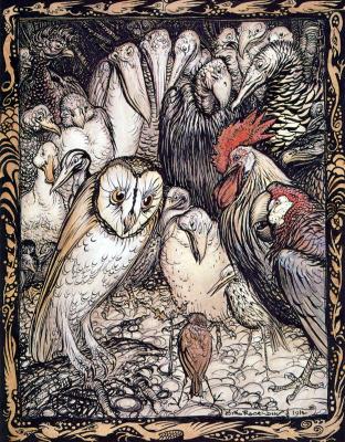 Arthur Rackham. Birds