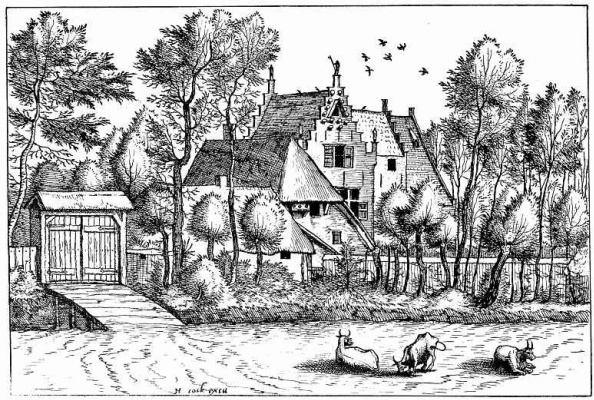 "Pieter Bruegel The Elder. The series ""Small landscapes"". Landscape # 6"