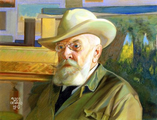 Mikhail Ivanovich the Beetle. Portrait of the artist Ivan Grigorievich Rashevsky