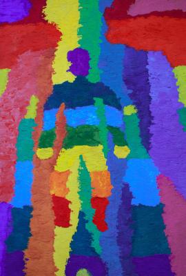 Max Yakushenok. Rainbow man