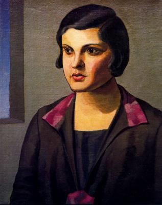 Эмилио Петторути. Портрет женщины 2