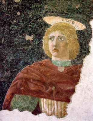 Piero della Francesca. Saint Julian