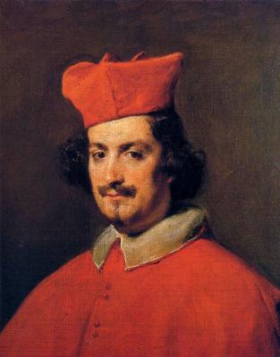 Diego Velazquez. Portrait of cardinal Camillo Astalli