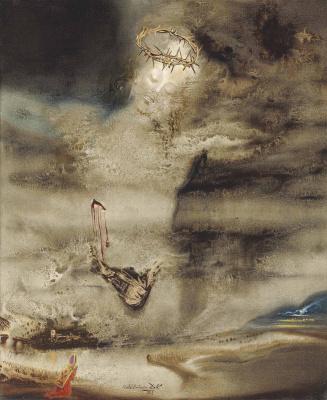 Salvador Dali. Christ Valles