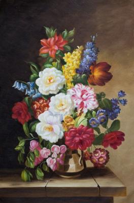 Maria Potapova. Baroque bouquet N7