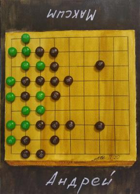 Maxim Alexandrovich Tatarinov. Go game