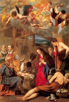 Фра Хуан Батиста Майно. Рождение Христа