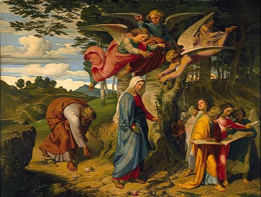 Йозеф фон Фюрих. Религиозный сюжет 14