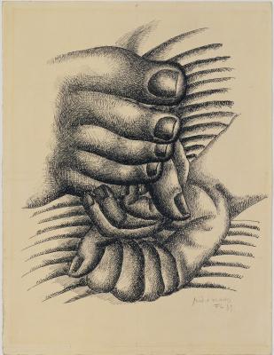 Фернан Леже. Ноги и руки
