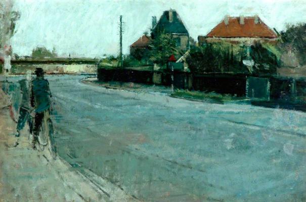 David Hockney. Road Murshid
