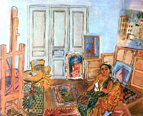 Raoul Dufy. Indian model