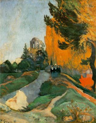 Paul Gauguin. Alican, Arles