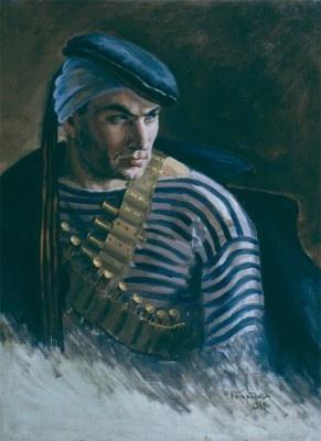 Федор Семенович Богородский. Раненый матрос