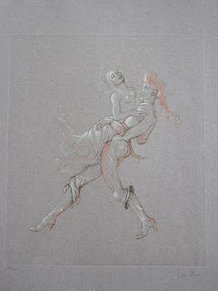 Leonor Fini. Scène de danse.