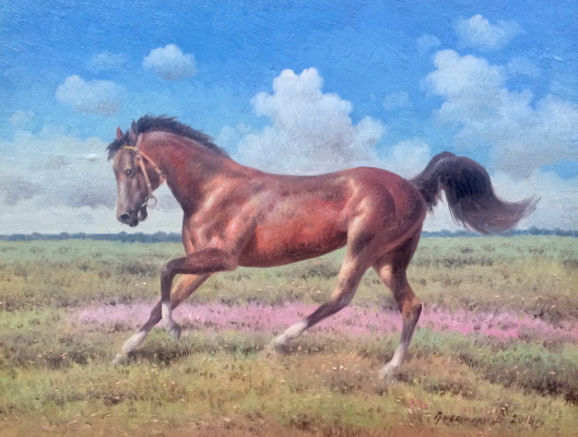 Vasily Ivanovich Gribennikov. Horse