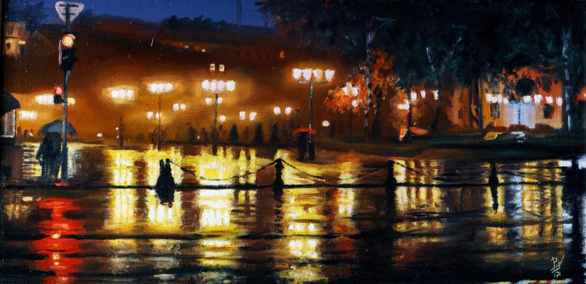 Вячеслав Юрьевич Шайнуров. Evening lights