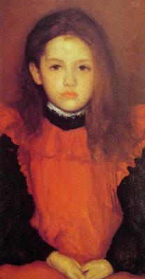 James Abbot McNeill Whistler. Little rose of Lyme Regis