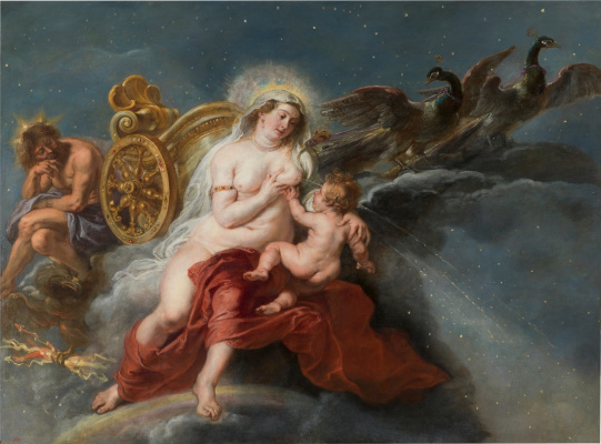 Peter Paul Rubens. The Origin Of The Milky Way