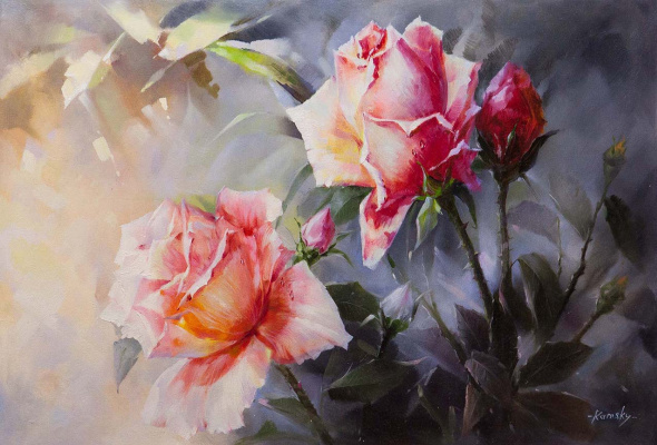 Savely Kamsky. Roses