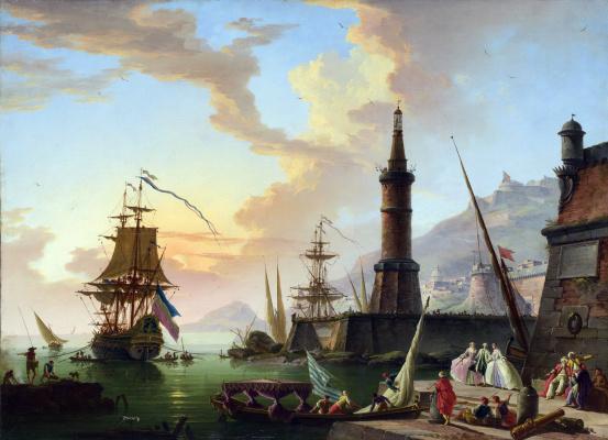 Claude Joseph Vernet. Seaport