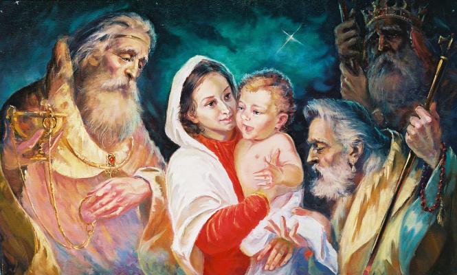 Виталий Викторович Жердев. Adoration of the Magi