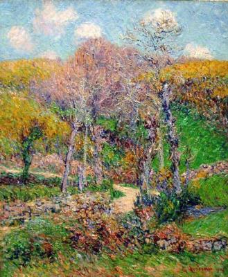 Гюстав Луазо. Пейзаж в Понт-Авен, Бретань
