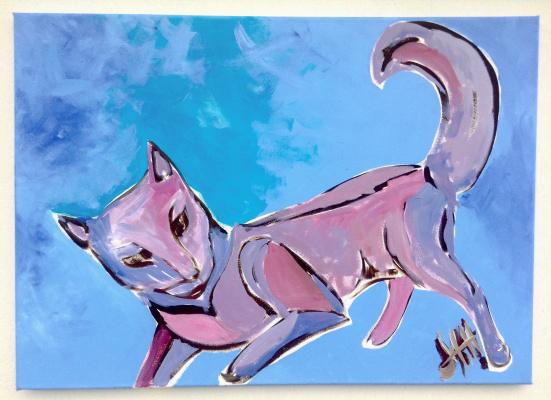 Никита Мурзин. The Secret Life of Animals. Playing Cat