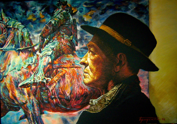 David Shikovich Brodsky. The artist and his work