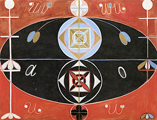 "Hilma af Klint. Series ""Evolution"", №16"